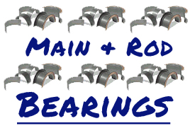 Main & Rod Bearings